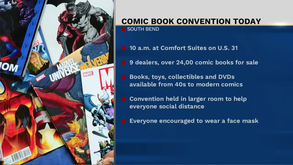 Comic book convention comes to South Bend