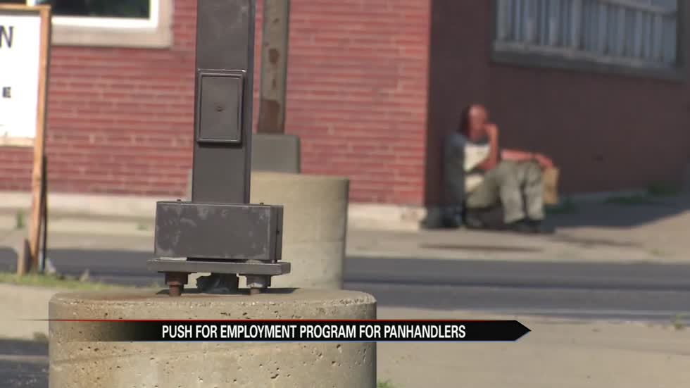 Common council approves employment program for panhandlers