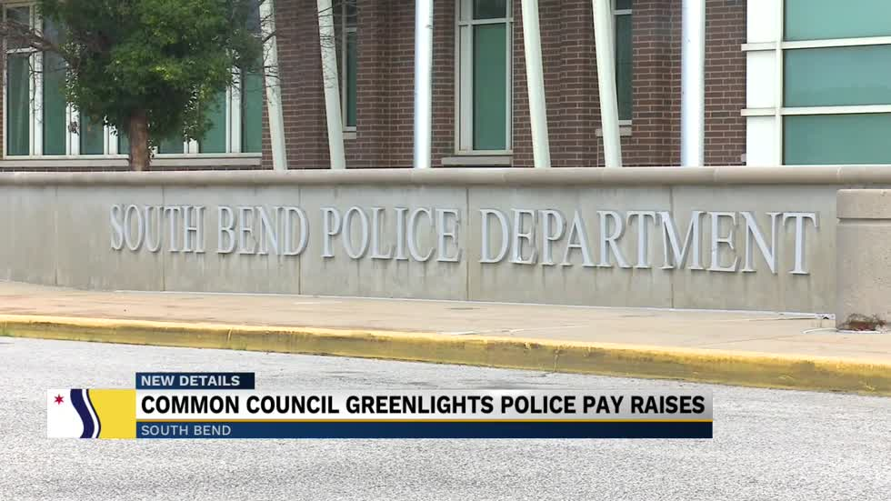 South Bend Common Council greenlights bill to increase officer...