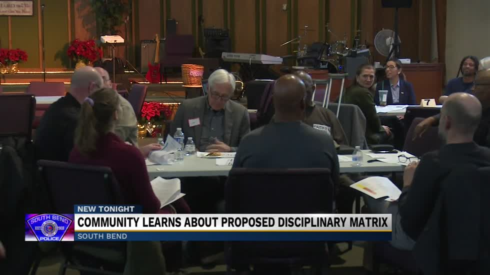 South Bend holds community action meeting to discuss discipline matrix