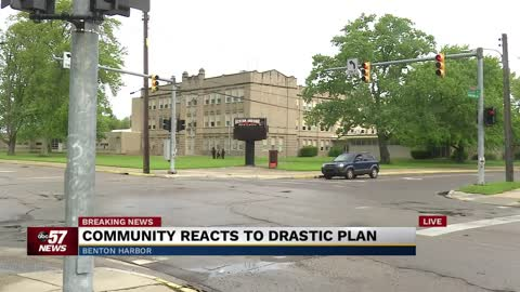 Community concerned about proposal to shut down Benton Harbor High School