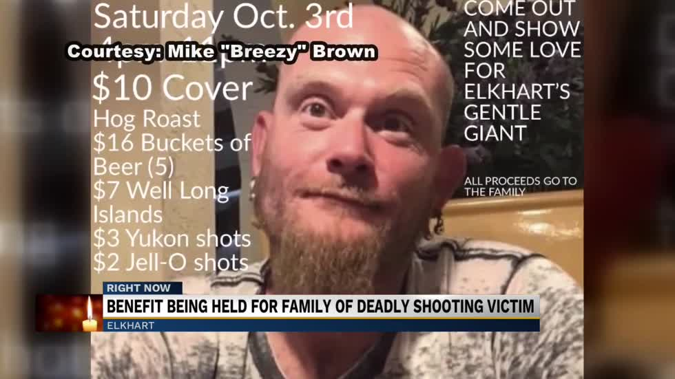 Elkhart Community comes together to benefit shooting victim 'Big Dave'
