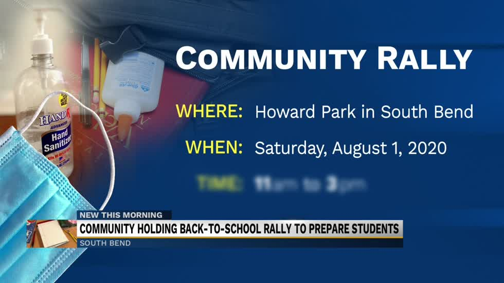 Community holding back-to-school rally to help prepare kids