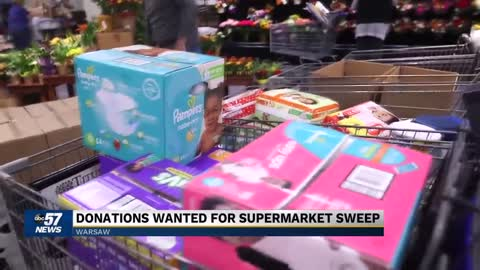 Community invited to shop for donations during 10th annual Supermarket Sweep