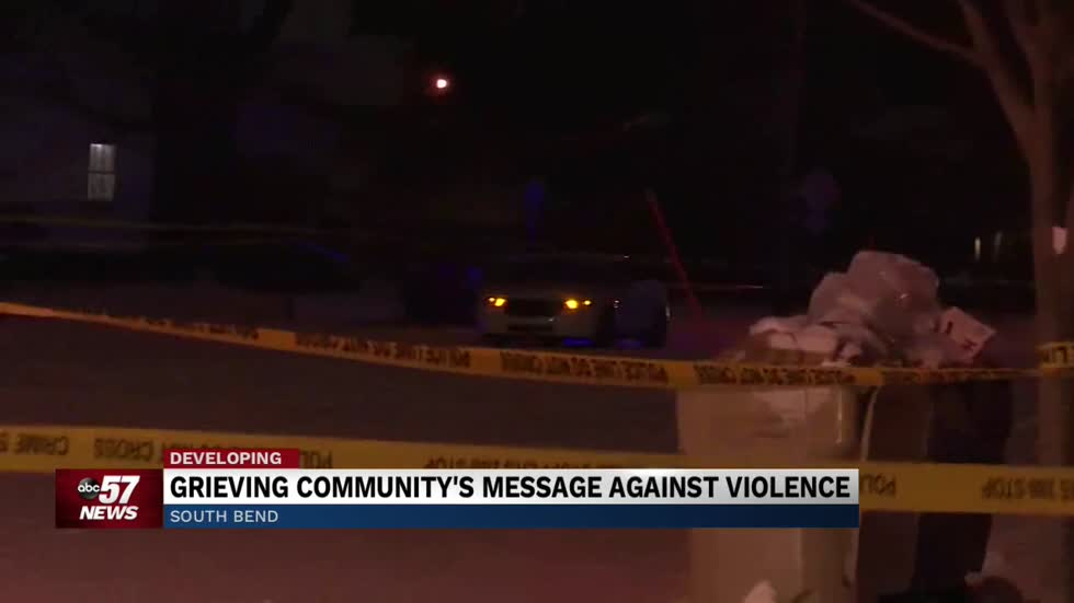Neighbors near Lincoln Way West in South Bend say violence must end