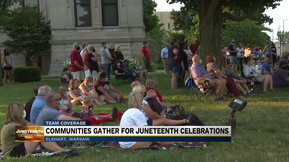 Community members gather for Juneteenth celebrations