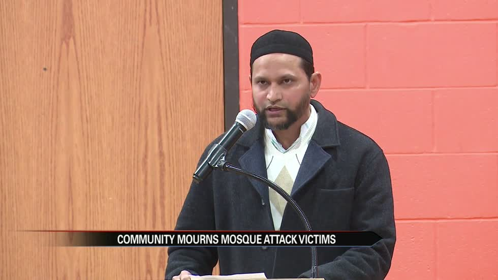 Community  mourns mosque attack victims