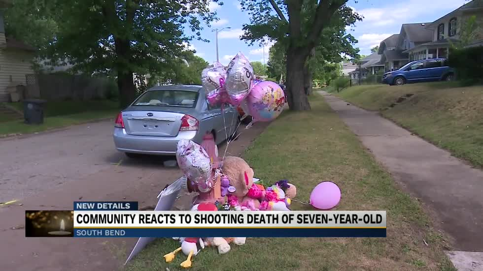 Community reacts to shooting death of seven-year-old