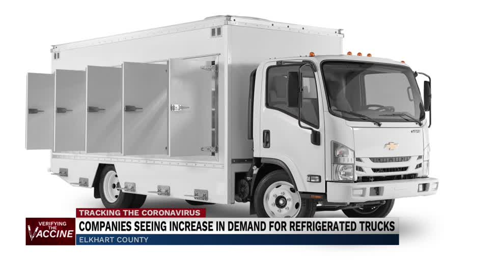 Trucking companies seeing rise in demand for refrigerated trucks