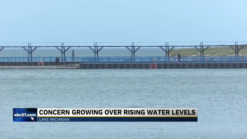 Concern growing over rising lake level
