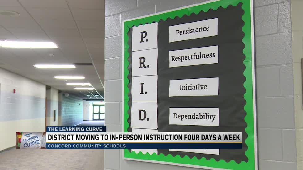 Concord Community Schools transitioning to in-person classes