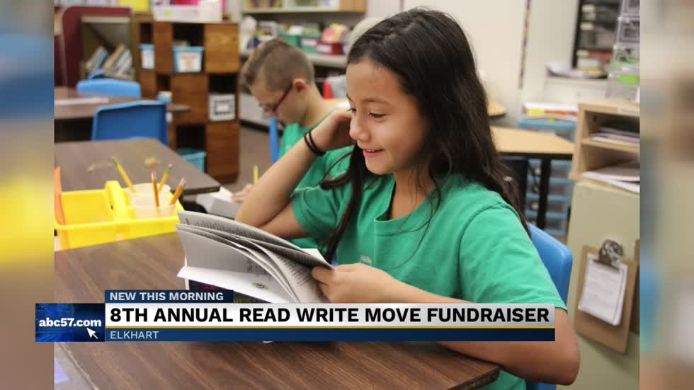 Concord South Side hosts annual Read Write Move fundraiser