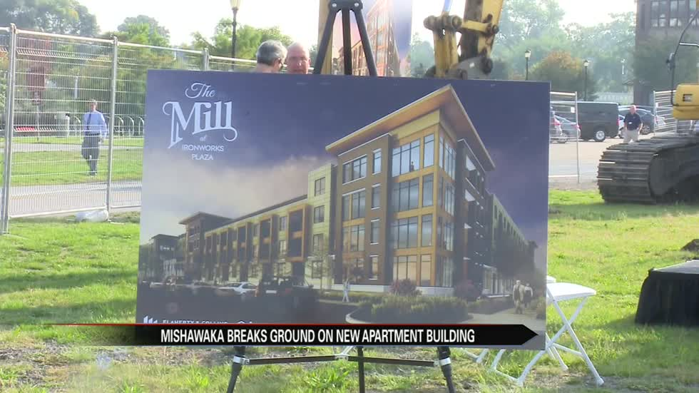 Construction begins on Mishawaka apartment complex
