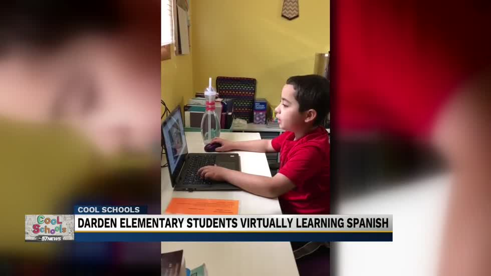 Cool Schools: John Adams High School students are teaching Darden Elementary school students Spanish virtually