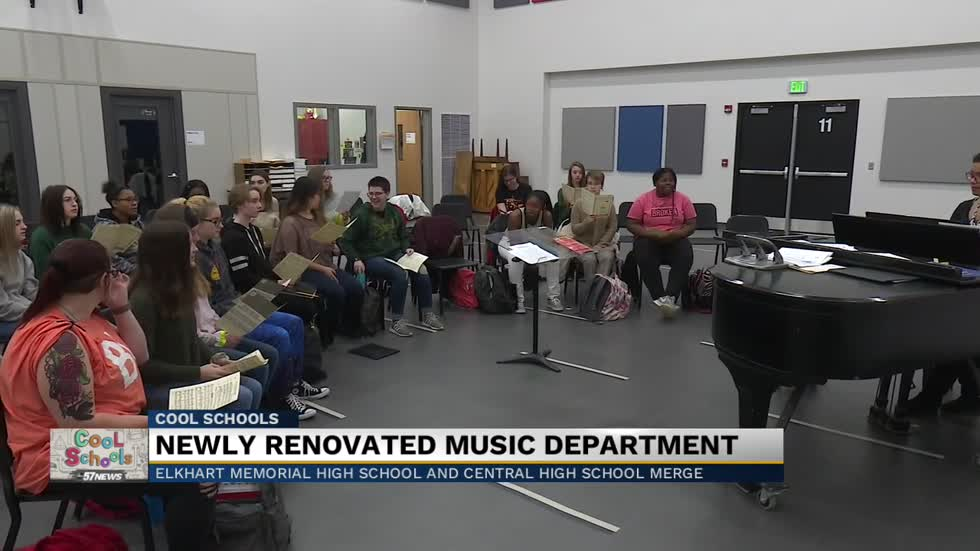 Cool Schools: Elkhart Community Schools renovation, addition creates new, pitch-perfect music department