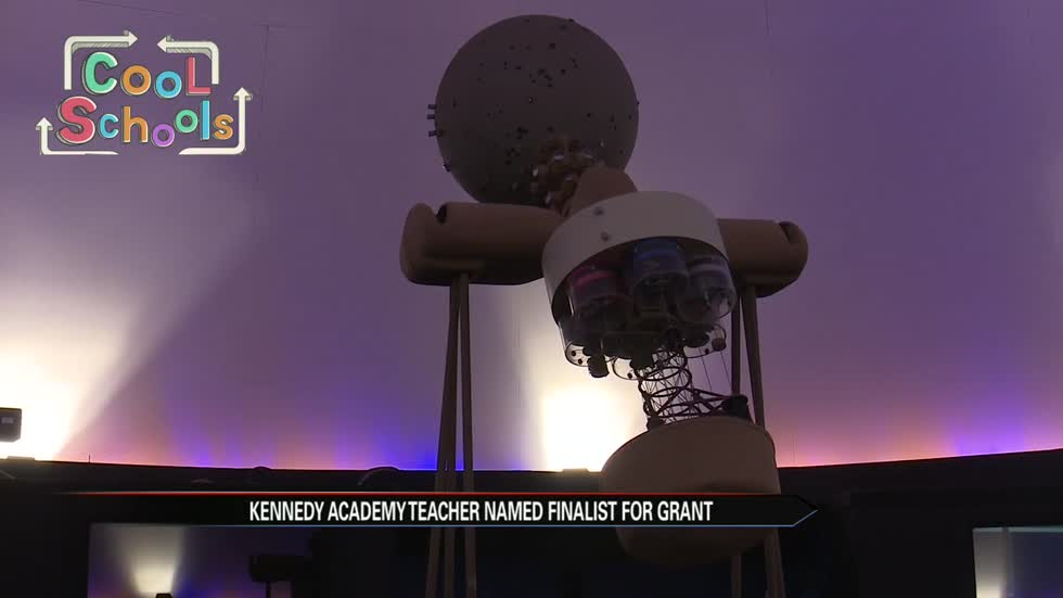 Cool Schools: Local teacher vying for $100,000 education grant to upgrade planetarium