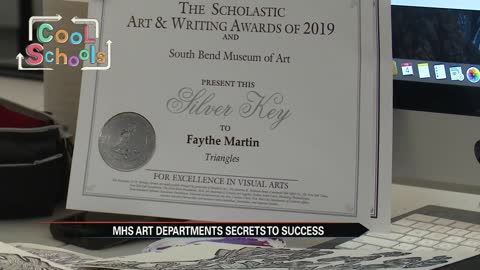 Cool Schools: Mishawaka Art Department takes modern approach to get kids career ready