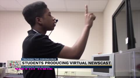 Cool Schools: Plymouth High School TV production students are taking things virtual