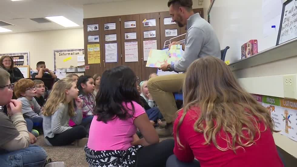 "Cool Schools: ""Real Men Read"" to Goshen elementary students"