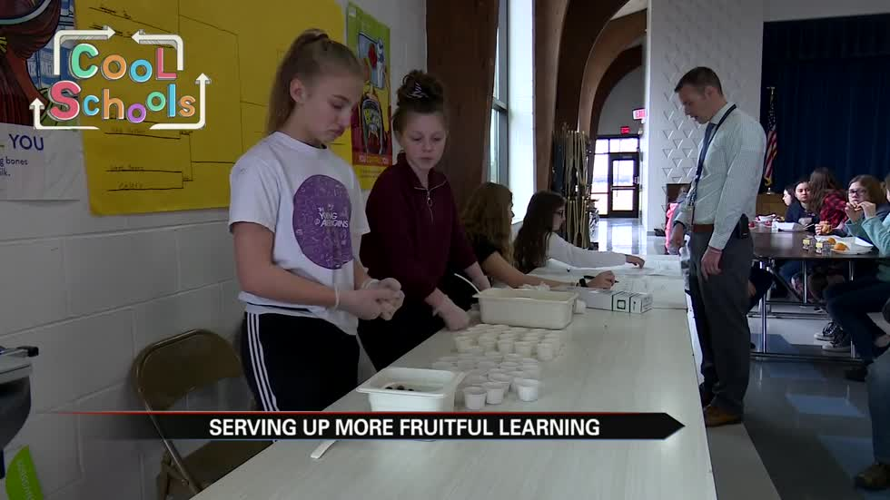 Cool Schools: Ring Lardner Middle School serves up fruitful learning