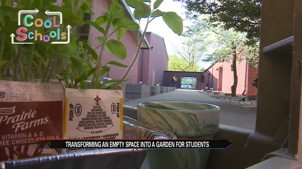 Cool Schools: St. Thomas School builds community garden