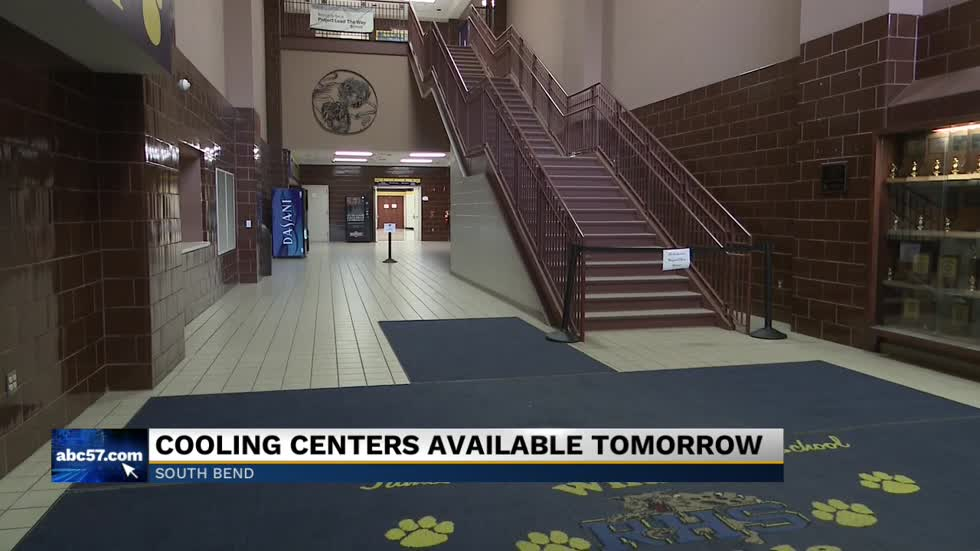 Cooling centers opening up throughout Michiana