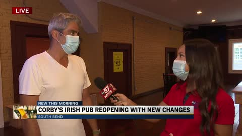 Corby's Irish Pub re-opens Tuesday with new changes