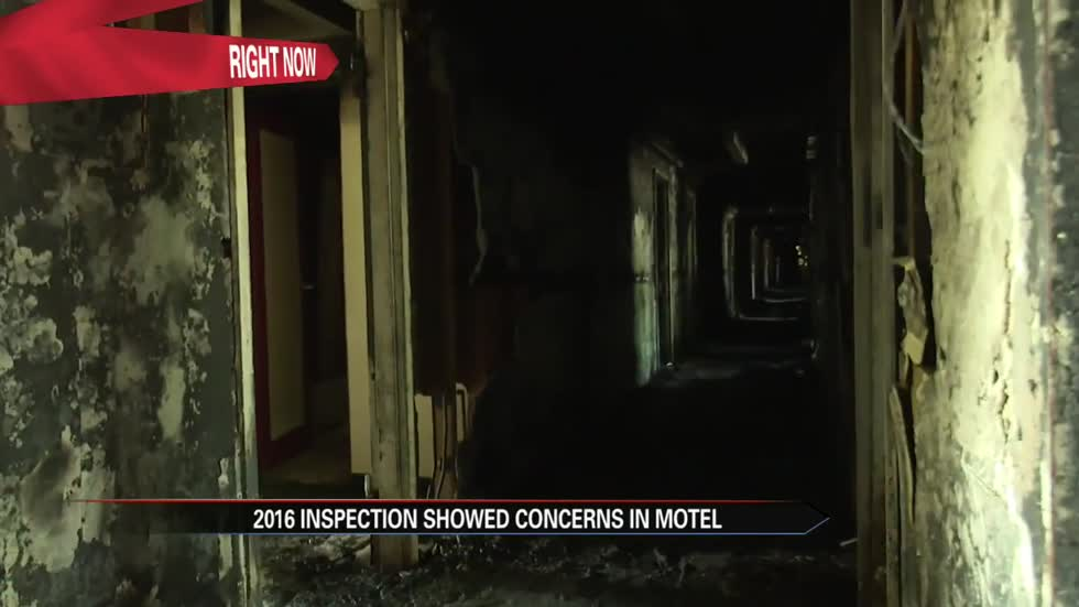 Cosmo Extended Stay Motel's last inspection included faulty fire alarms, locked doors
