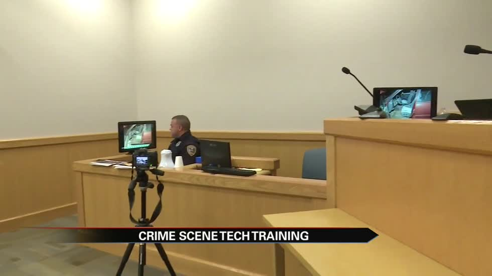CSI techs take the stand in courtroom training program