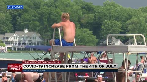 Data suggests Independence Day celebrations are to blame for increase in COVID-19 cases in St. Joseph County