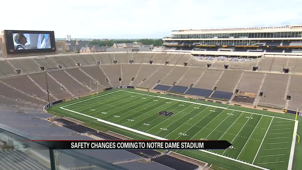 Crossroads Project At Notre Dame Includes Changes For Player Safety