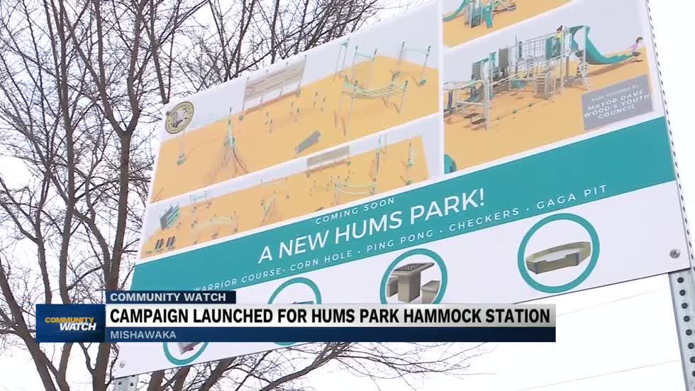 Crowdfunding campaign looks to raise money for hammock station...
