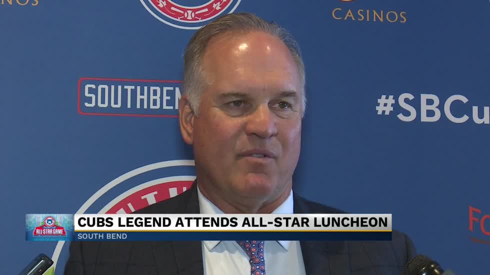 Cubs legend in South Bend for All-Star Game