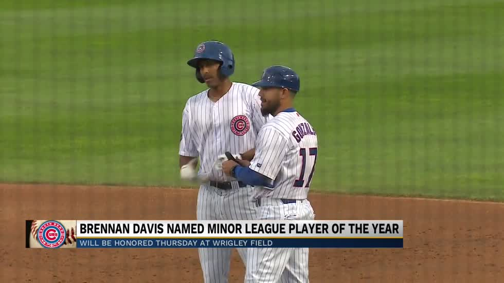 Cubs Outfielder named Chicago Cubs Minor League Player of the Year