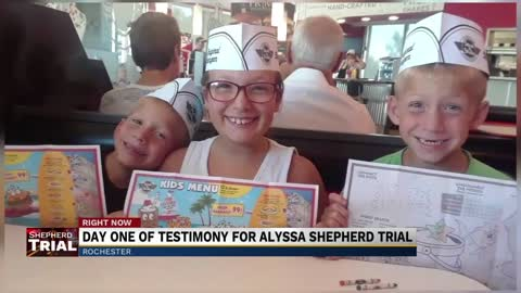 Day one of testimony for Alyssa Shepherd trial concluded Wednesday
