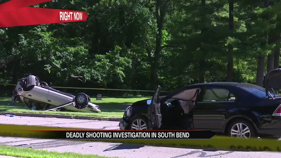 Fatal shooting in South Bend, male suspect detained