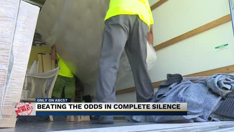 Deaf run, operated moving company overcomes all obstacles including...