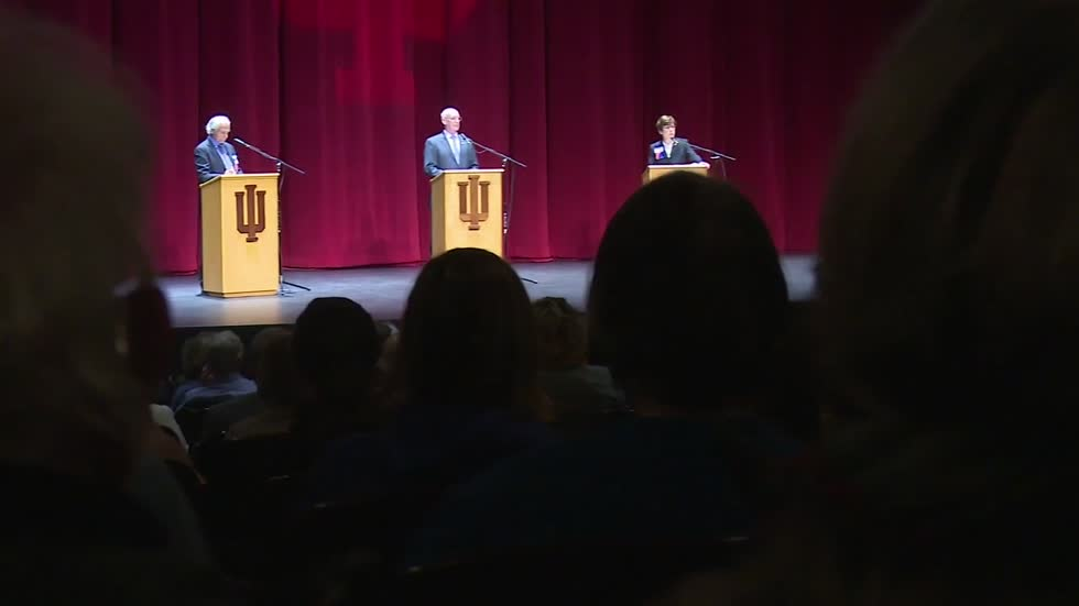 Democratic candidates for Indiana's 2nd Congressional District face off for the first time