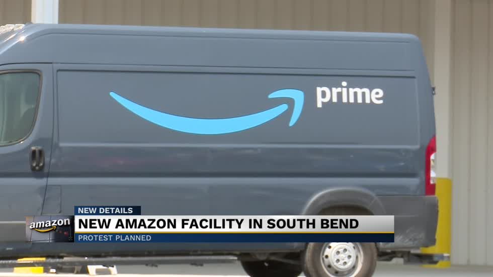 Demonstrators to protest opening of South Bend Amazon facility