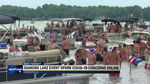 Diamond Lake event spark COVID-19 concerns online
