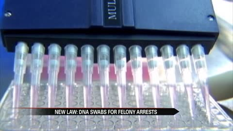 DNA swabbing for Hoosiers arrested for felonies