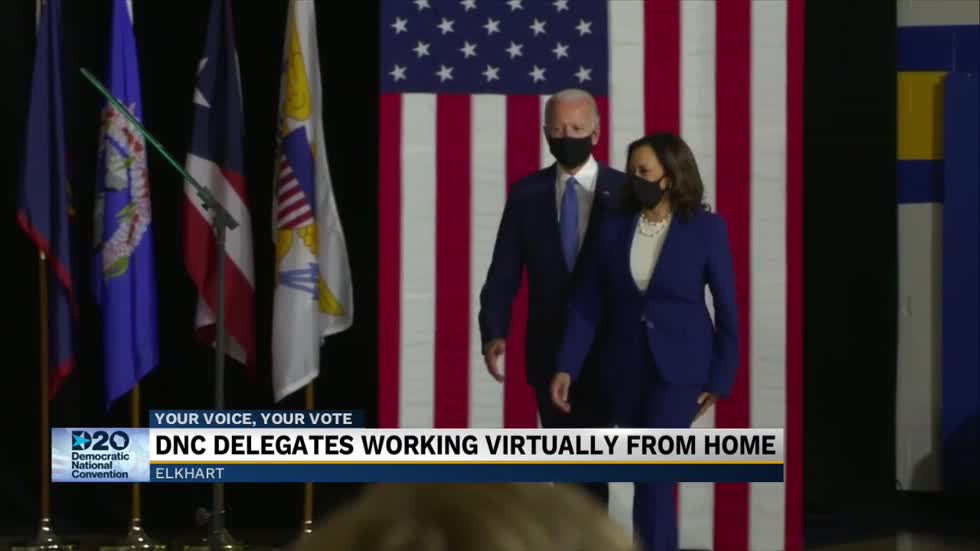 Michiana DNC Delegates reflect on the first ever virtual convention and look forward to Thursday night wrap up