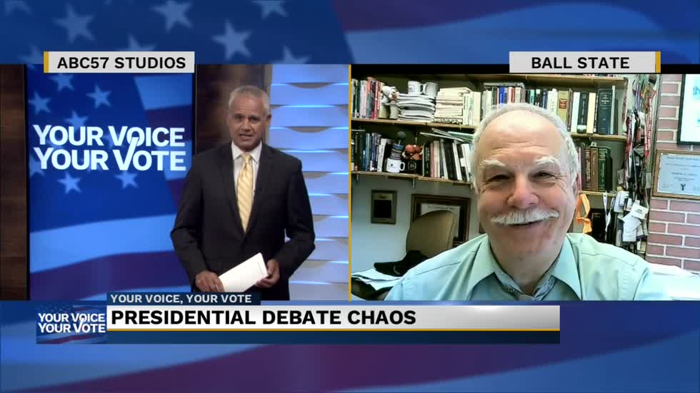Dom Caristi discusses the first presidential debate and the public's...