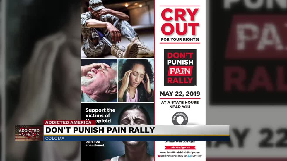 Don't Punish Pain Rally to take place in Coloma