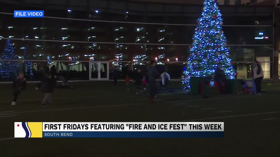 Downtown South Bend hosting Fire & Ice themed First Friday in February