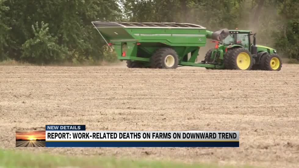 Downward trend on work-related deaths on farms