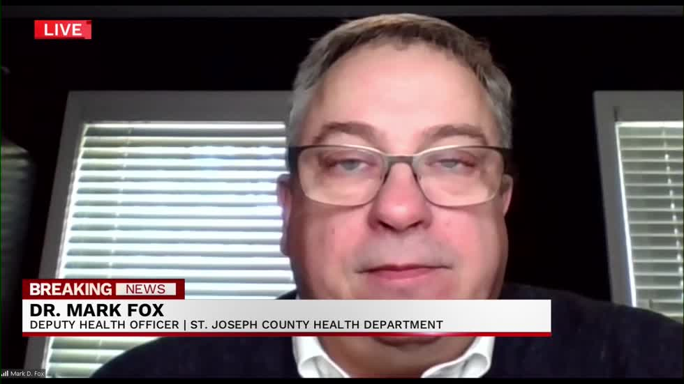 ABC 57 interviews Dr. Mark Fox on Indiana house vetoing Governor...