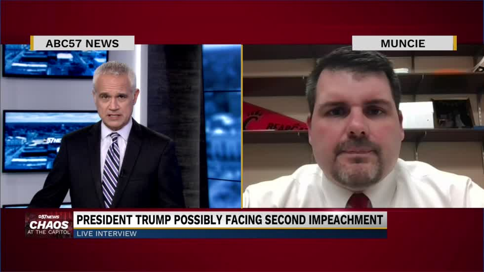 Dr. Kinsella gives insight on impeachment practices and Inauguration Day