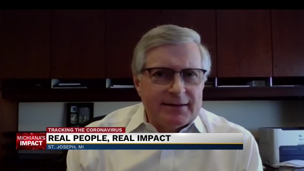 Dr. Loren Hamel of Spectrum Health Lakeland discusses states reopening amid pandemic