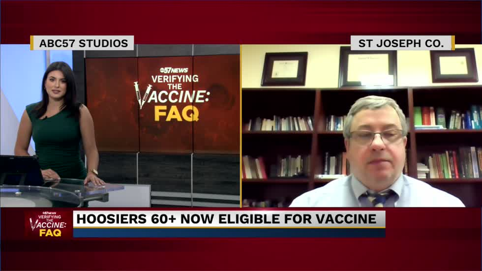 Dr. Mark Fox on COVID-19 vaccine eligibility expansion and concerns in St. Joseph County